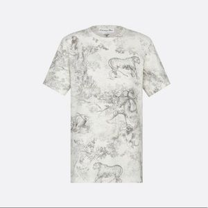 NWT Christian Dior Toile tee- Angela Baby loves